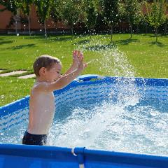 dětské nadzemní bazény