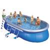 nadzemní bazén intex ovál