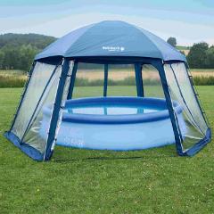 nadzemní bazény s přístřeškem
